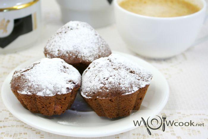 шоколадные постные кексы