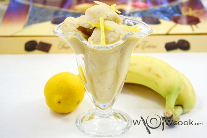 Банановый сорбет