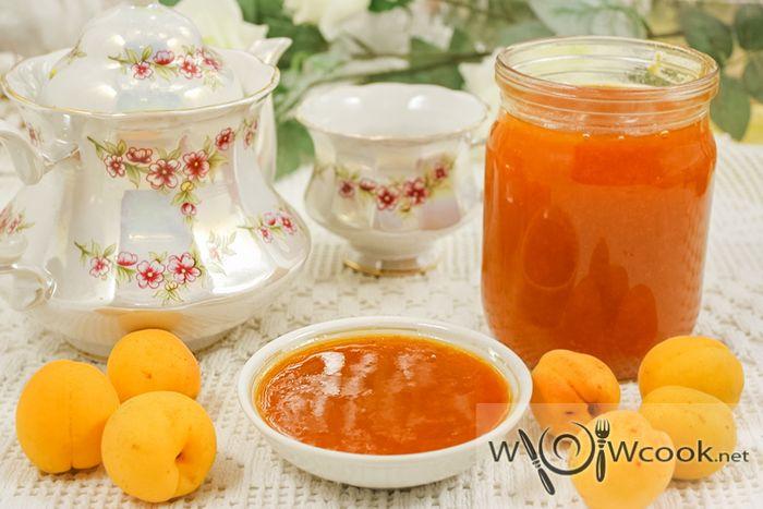 Вкусный абрикосовый джем