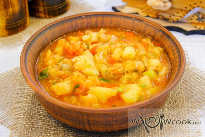 Овощное рагу по-селянски, рецепт