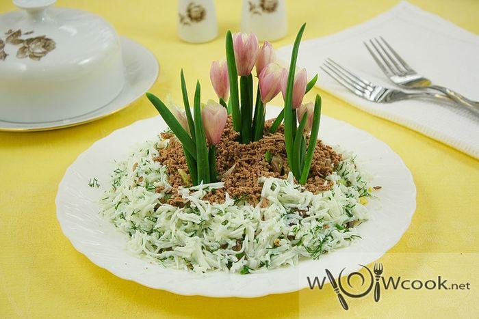 Салат из субпродуктов