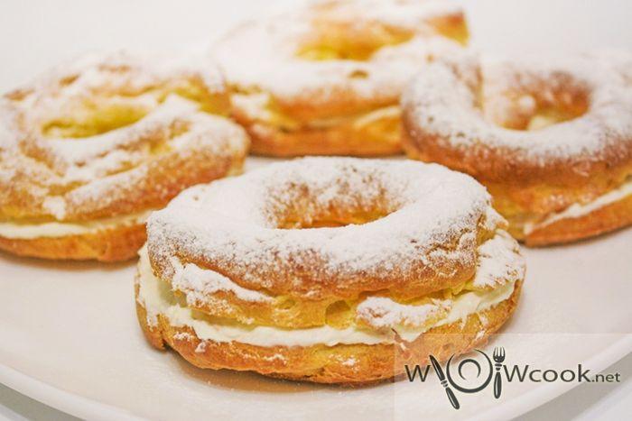 пирожные заварные кольца