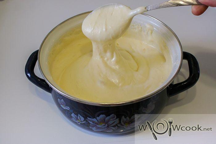 Рецепт вкусного заварного крема для бисквита