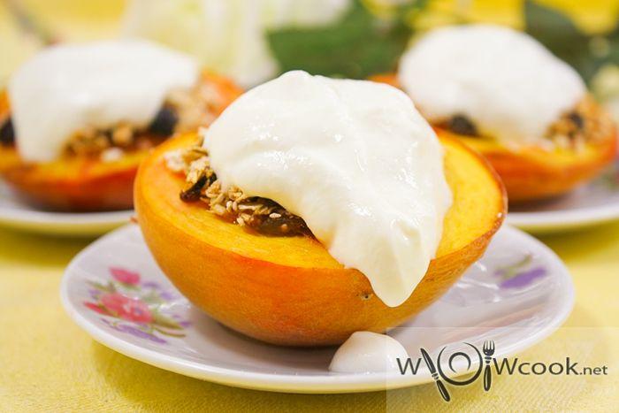 Персики запеченные