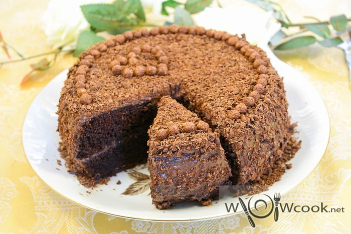 Торт Шоколад рецепт
