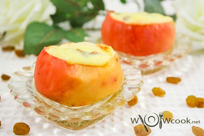 рецепт запеченные яблоки