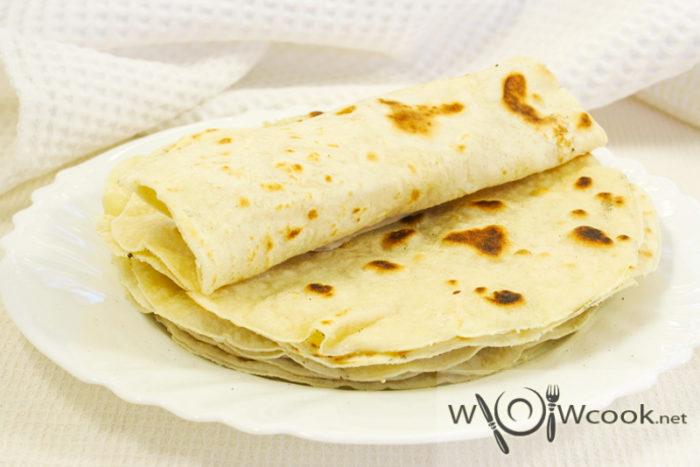 Тортильи мексиканские из пшеничной муки