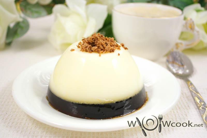 кофейно-молочный десерт рецепт с фото