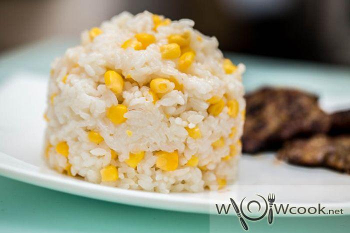 рис с кукурузой на гарнир