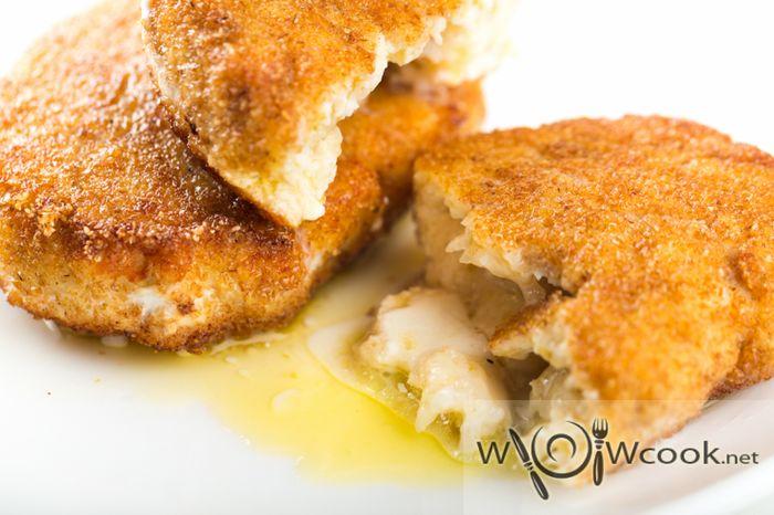 куриные зразы с маслом