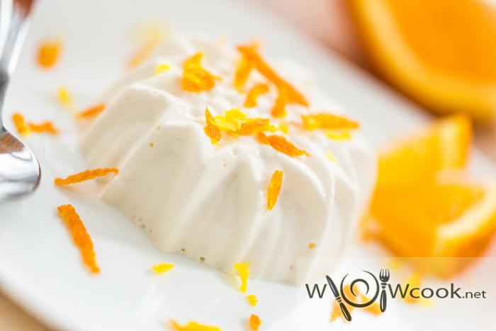 самый вкусный десерт из творога с желатином