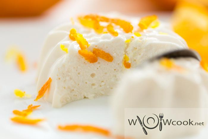 самый вкусный творожный десерт с желатином