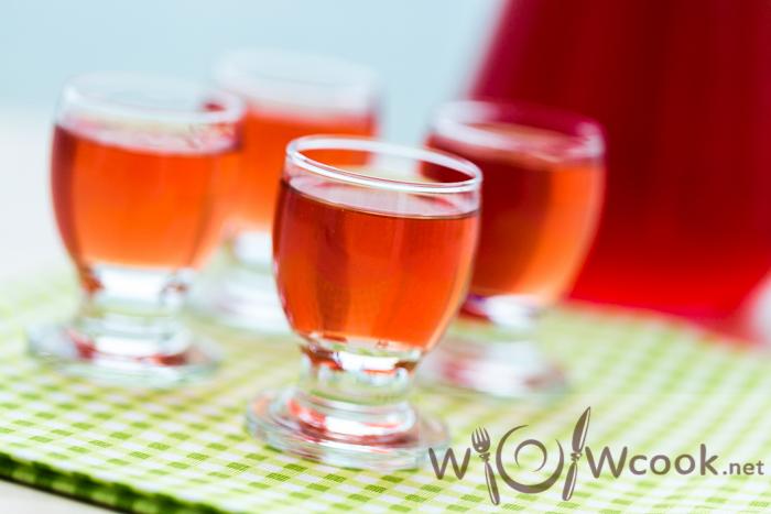 розовый ликёр рецепт