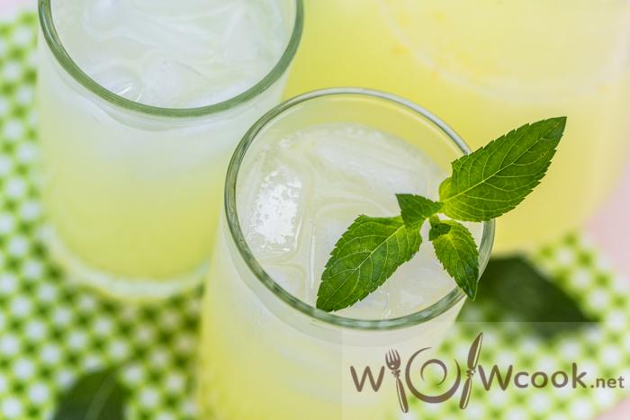 содовая с лимоном дома