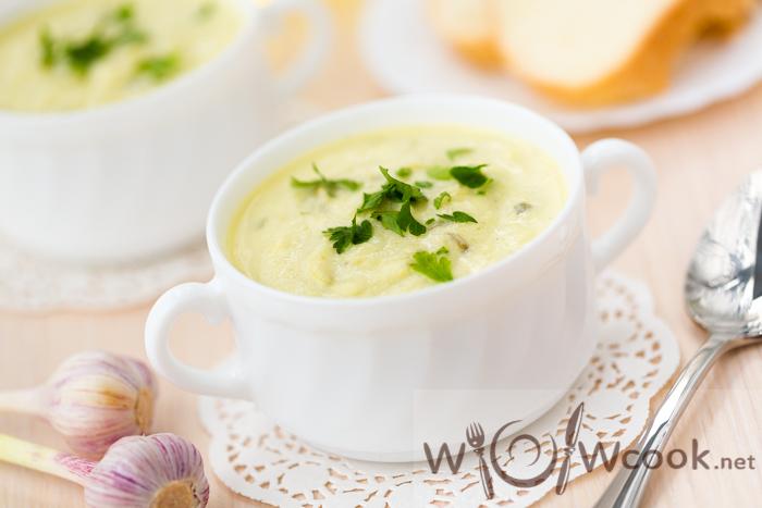 самый вкусный суп-пюре из кабачков