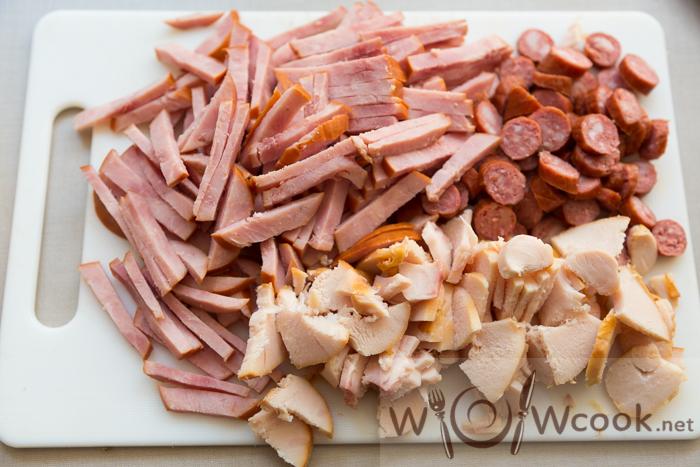как готовить солянку из мяса