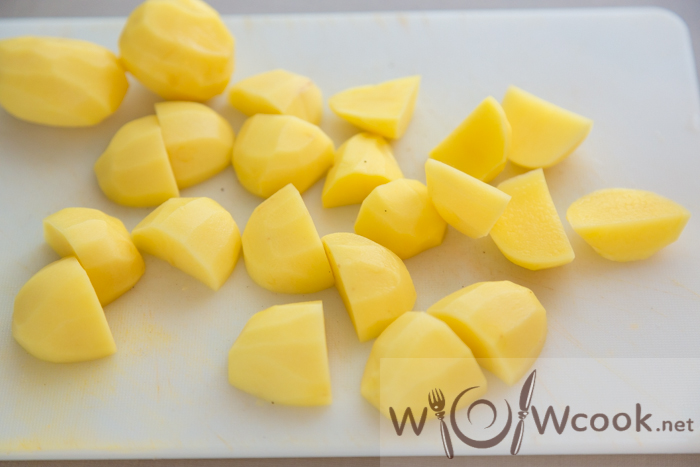 Картошка по-домашнему - рецепт пошаговый с фото