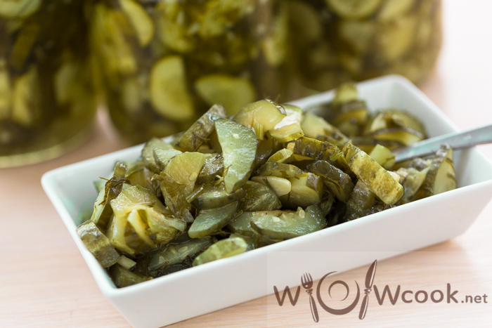 зимний салат из огурцов рецепт