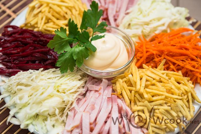 как приготовить татарский салат