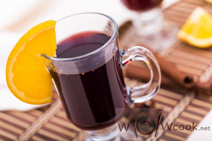 как готовить глинтвейн на вине