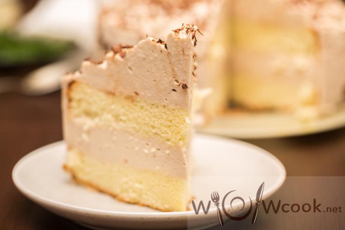 вкусный торт с суфле