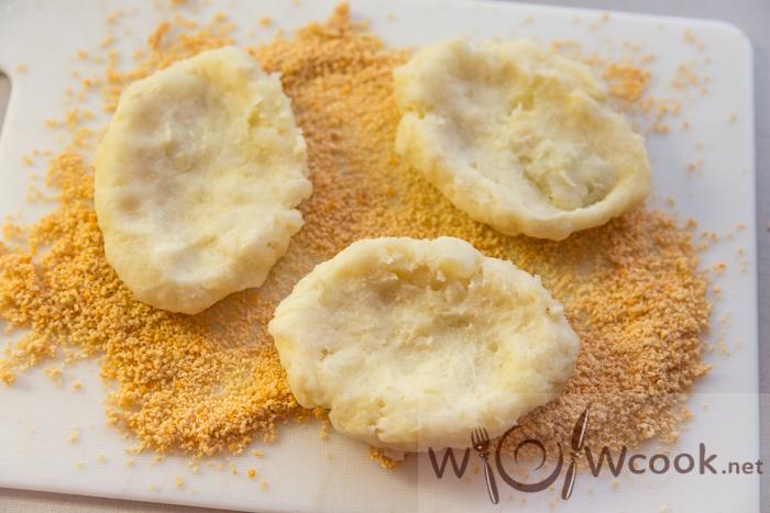 картофельные зразы с грибами основа
