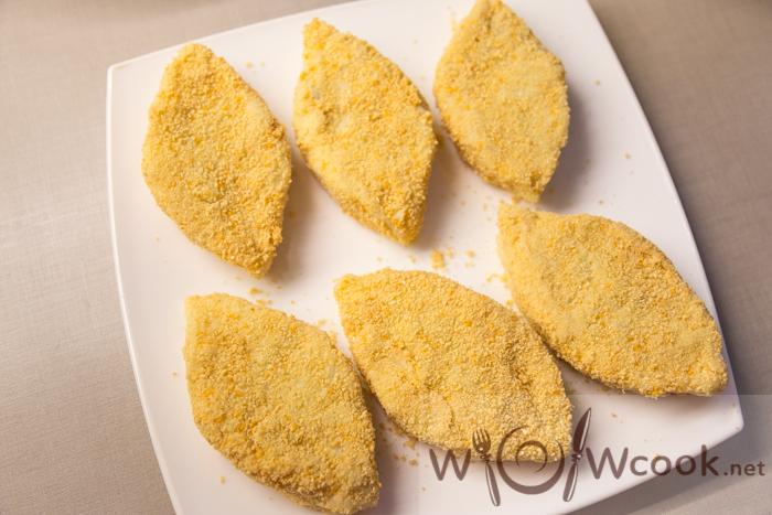 как формировать картофельные зразы с грибами