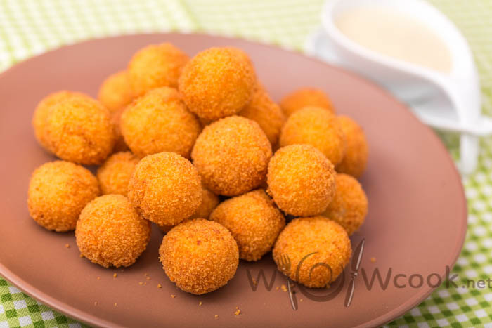 вкусные картофельные шарики