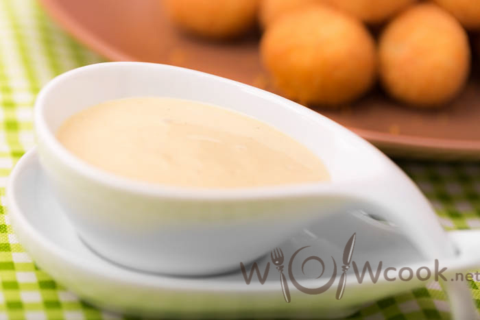 сливочно-горчичный соус