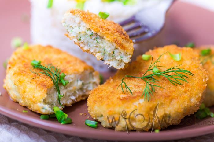 вкусные рыбные котлетки
