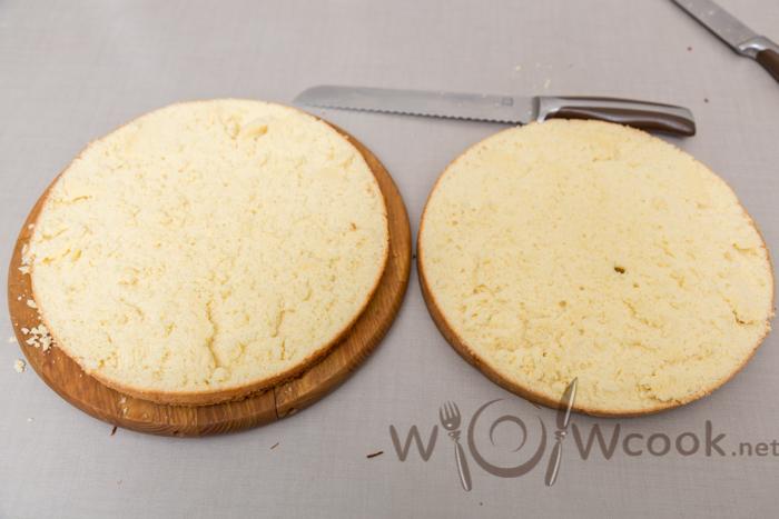 готовый бисквит для торта