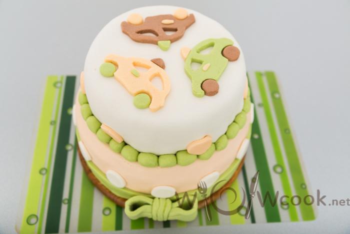 двухъярусный торт на день рождения мальчику