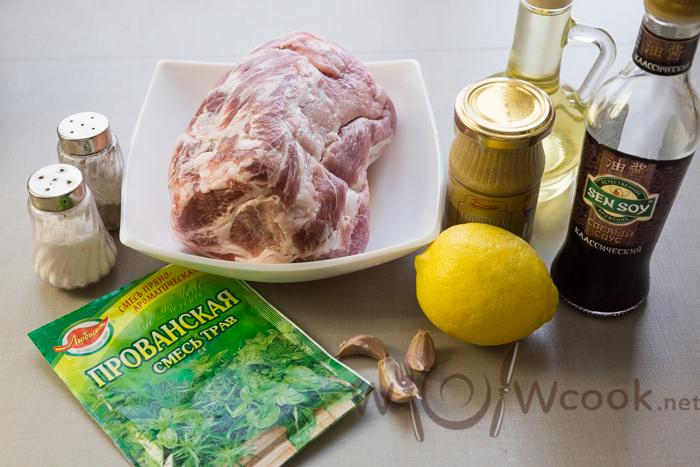 свинина гриль ингредиенты