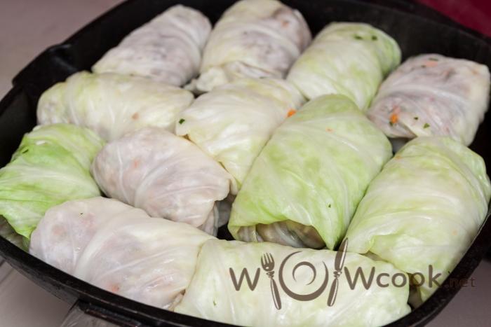 Голубцы из индоутиного мяса и моркови - рецепт пошаговый с фото