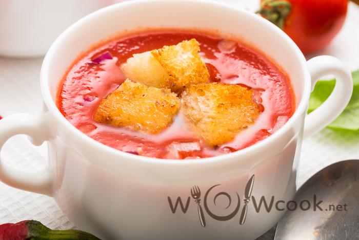 гаспачо томатный суп рецепт с фото