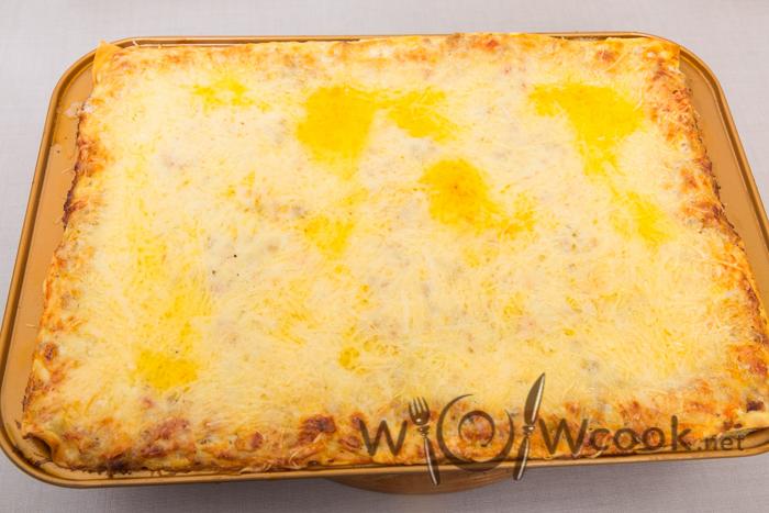 лазанья с сыром