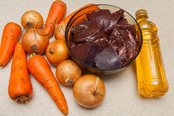 блинчики с печенью ингредиенты