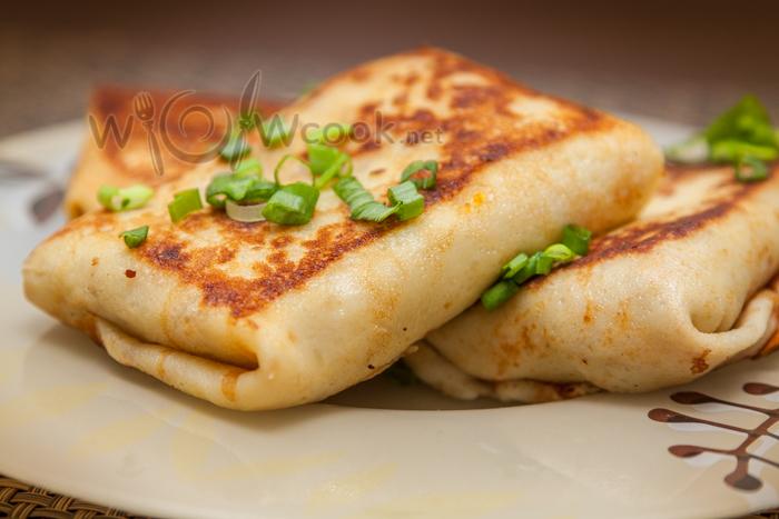 вкусные блинчики с мясом рецепт с фото