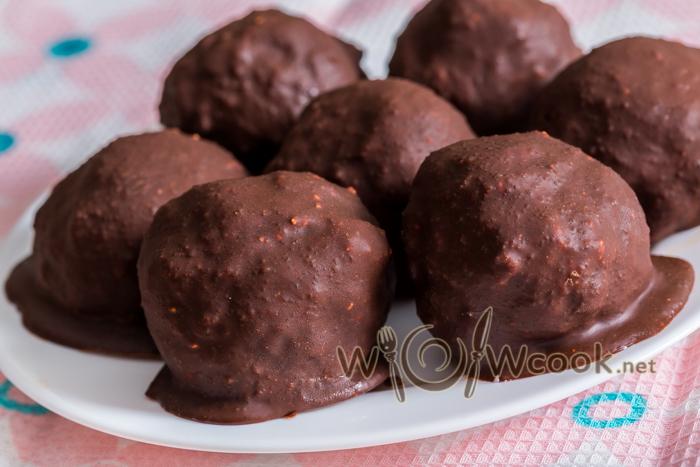 сырки из творога с шоколадом рецепт