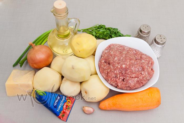 картофельная запеканка ингредиенты