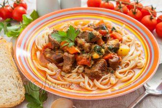 Рецепт лагмана в домашних условиях из говядины