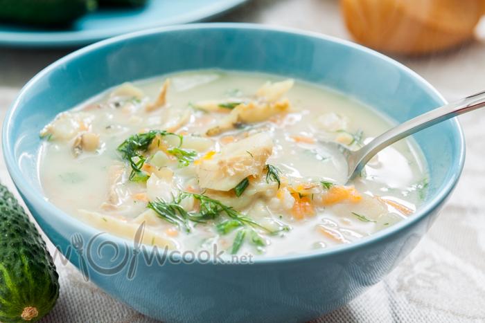 рыбный суп с хеком рецепт
