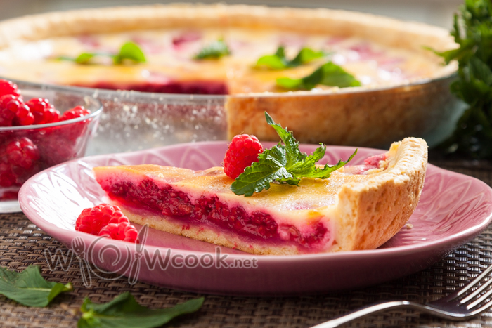Цветаевский пирог с малиной, рецепт с фото