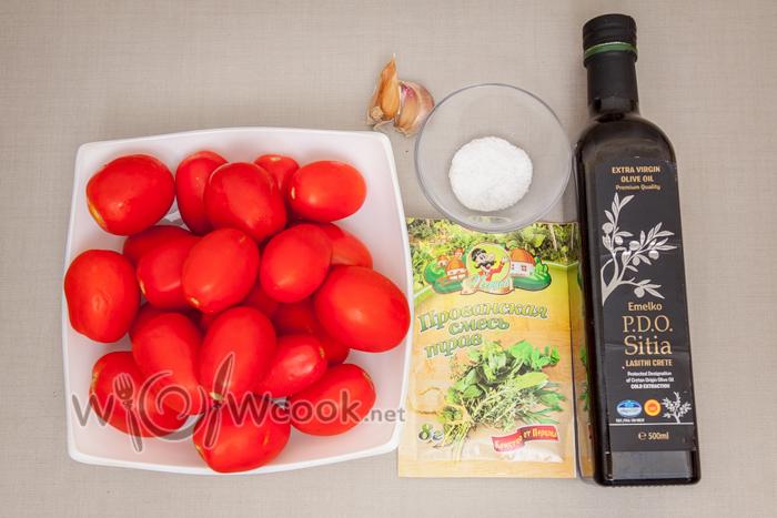 вяленые помидоры ингредиенты