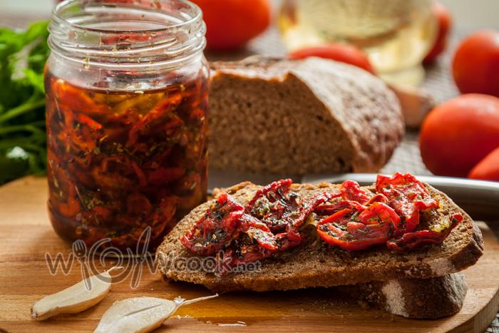 Вяленые помидоры, рецепт на зиму