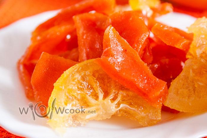 цукаты из тыквы в сушилке