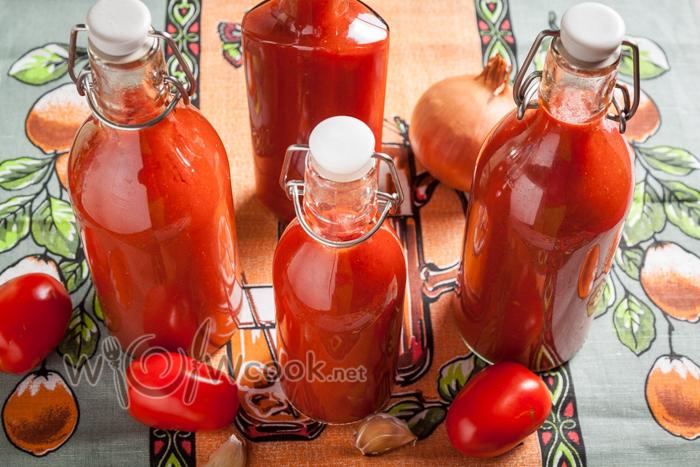Домашний кетчуп с яблоками на зиму