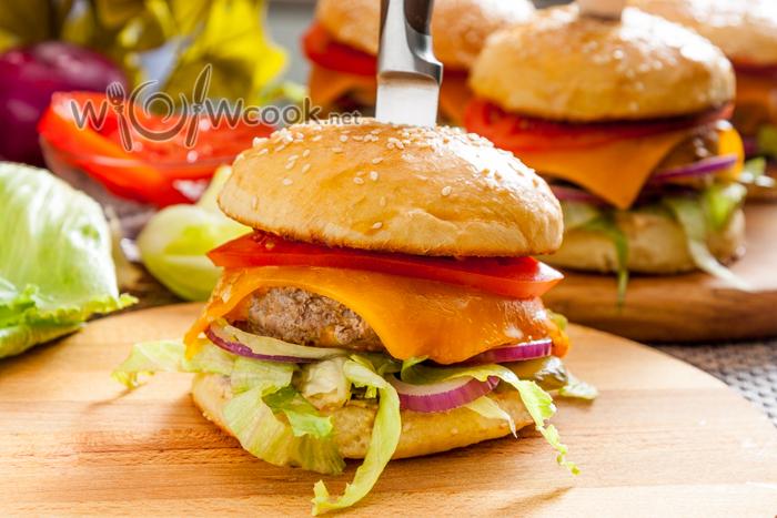 рецепт котлет для гамбургеров в домашних условиях