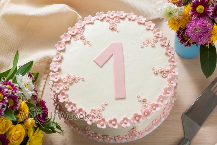 простой торт девочке