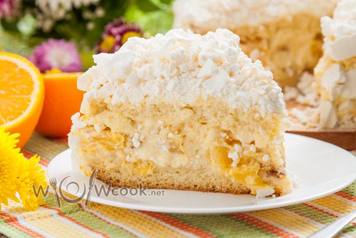 вкуснейший торт с апельсином